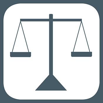 Application-weighing